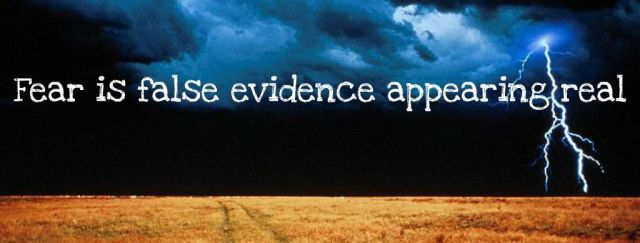 FEAR=False Evidence Appearing Real