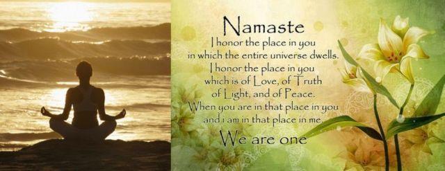 Namaste - 640 x 247