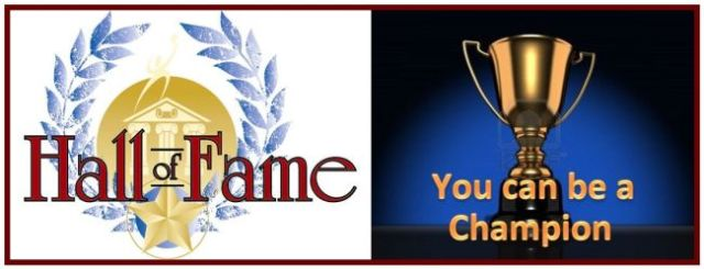 Hall of Fame - You Can Be A Champion - Bordered - 650 x 249