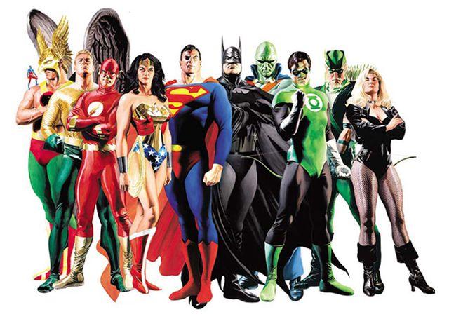 Superheroes - 640 x 465