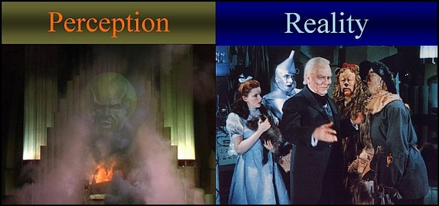 Wizard of Oz - Perception vs. Reality - 640 x 301